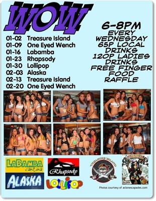 WOW Jan Feb 2013t February Party Schedule