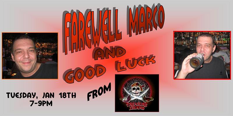Farewell Marco