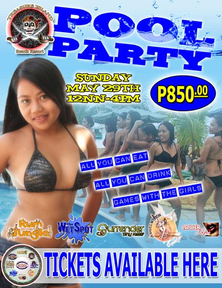 Treasure Island Pool Party Subic