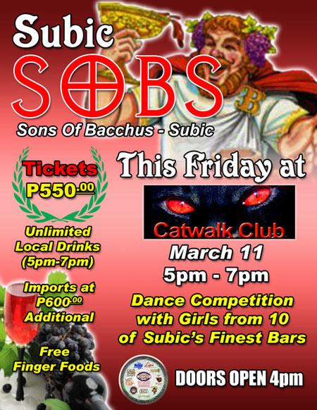 SOB Subic Catwalk