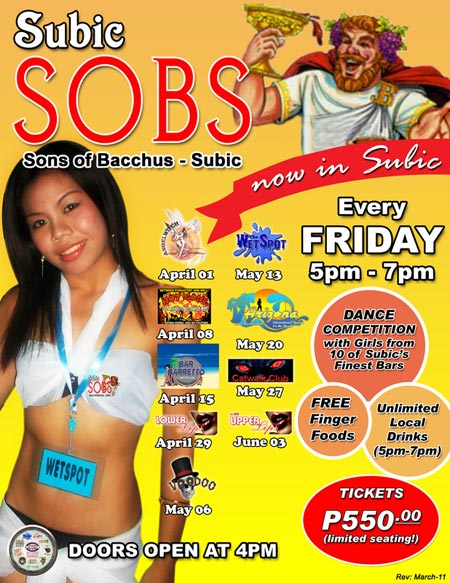 SOB Party, Subic