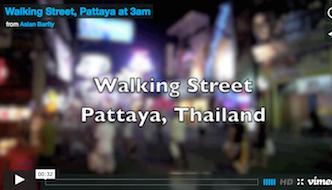Walking Street, Pattaya Video
